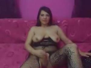 Big Cock TS Masturbation