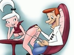 Futurama vs Jetsons porn parody