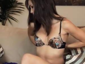 Morgan babe trying brutal vibrator