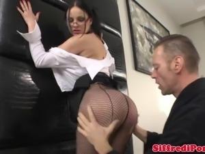 Bigdick italian stud sucked by hot slut during a photoshoot