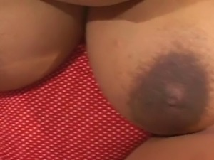 Huge Tits Wife fucks and Play with Cum