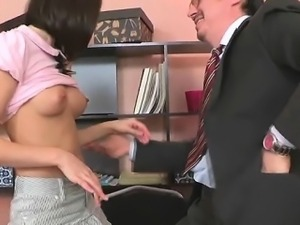 Blow job for a concupiscent teacher
