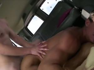 Straight baited dude plows gay hard