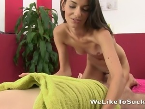 zeta tries to rise a sluggish cock