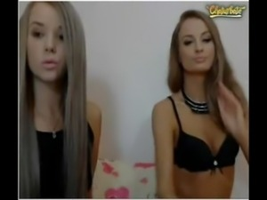 Blonde lesbians doing everything in the webcam free