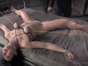 sex slave hottie loves the pain