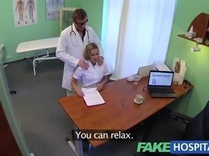 FakeHospital Hot nurse rims her way to a raise