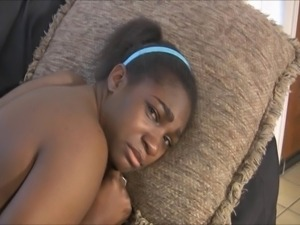 ebony girl punished