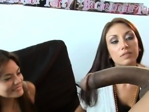 Those awesome girlfriends love to put jock