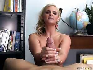 Phoenix Marie with massive breasts has a great desire to be mouth fucked by...