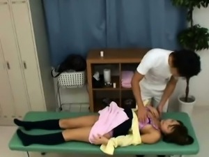 Hidden Voyeur Cam at School Doctor