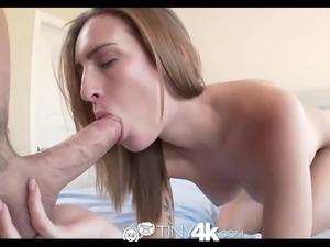 Maci Winslett takes huge dick in tight pussy