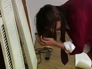 Indian Teen Gets Spanked