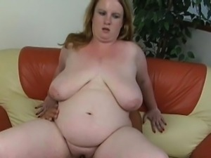 Boy fucks his hot overweight adorable gf