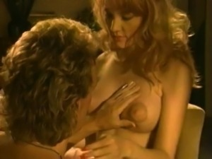 Vintage Puffy Nipple Redhead Gets Hard Cock