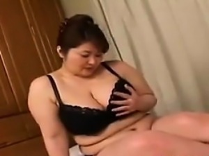 Big Beautiful Asian Mother