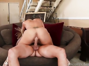 Clover bangs Asian Holly Heart as hard as possible in hardcore sex action