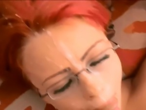 Red head blowjob compilation