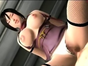 3D Big Titted Girl Titty Fucking!