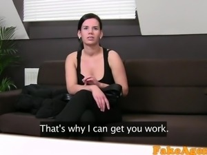 FakeAgent Hot Teacher gets A+ in casting