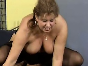Nasty old whore goes crazy sucking part3