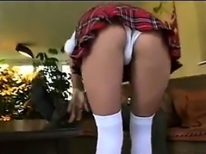 Blonde Schoolgirl Fingered And Fucked