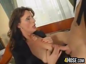 Busty Mature Woman Having Sex
