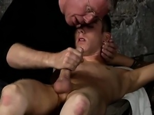 Hot twink scene British lad Chad Chambers is his recent vict