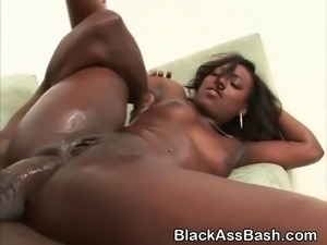 Black Girls With Big Asses Anal Fucked In Threesome
