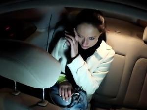 Cheated girlfriend fucking in fake taxi pov