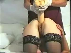 Giant anal dildo