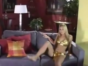 Blonde Teen Anal Creampie
