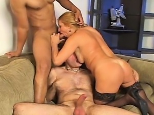 Bisexual boyz and a gorgeous girl