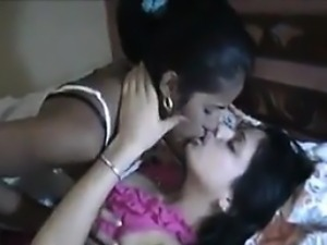 Indian Lesbians Making Love
