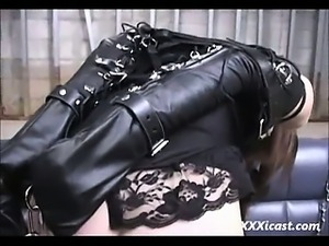 Bound Bondage Asian Teen Made To Orgasm