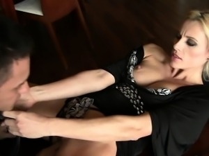 Blonde Milf, Brittany A, Pussy and Anal Fuck