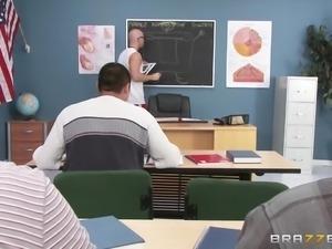 the gym teachers fuck everywhere