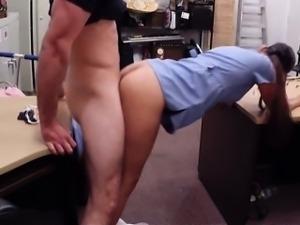 Desperate nurse gave her undies to horny pawnkeeper
