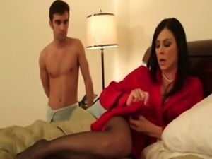 Kendra Lust Beautiful lingerie MOM free