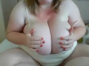 Monster tits flashed and teased
