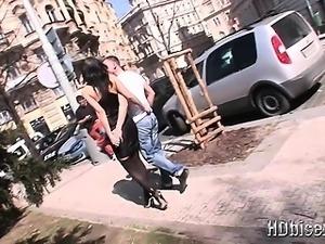 Hot Bisexual Teen Threesome