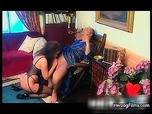 Horny babe is fucked by horny guy