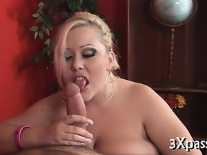 Black rod for fat gorgeous girl