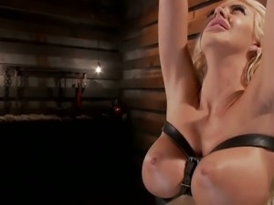 Busty babe Courtney Taylor fucked into submission.