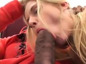 British Blonde Wants A Big Black Cock