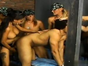 Big tits cum drinking