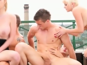 Bisexual dudes get rimmed and rammed
