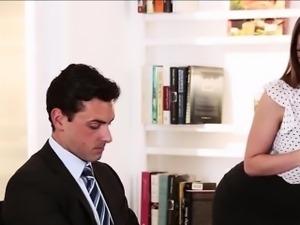 Secretary fucked hard with a big cock