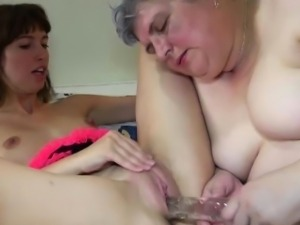 OldNanny Old Young Lesbian - Old Young Lesbian