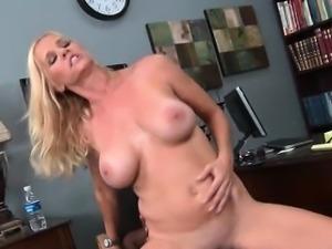 Naked mom fucks a whole giant black cock